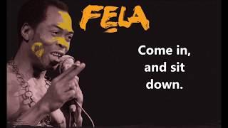 Calling You African People - Fela Kuti