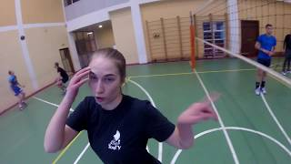 Волейбол от лица капитана 2 / volleyball first person view of the captain