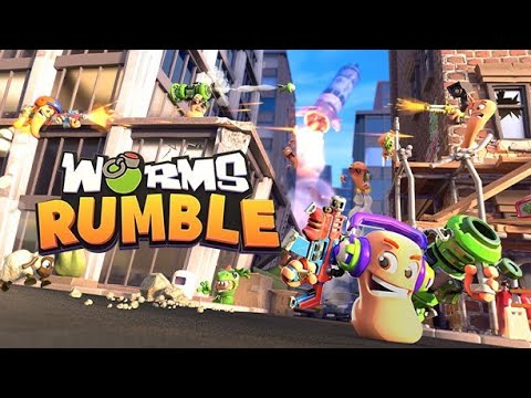 Worms Rumble - Win because of a ''bug''!!!  