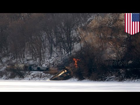 Iowa train accident: freight train carrying ethanol derails, no one injured, dead, poisoned or high