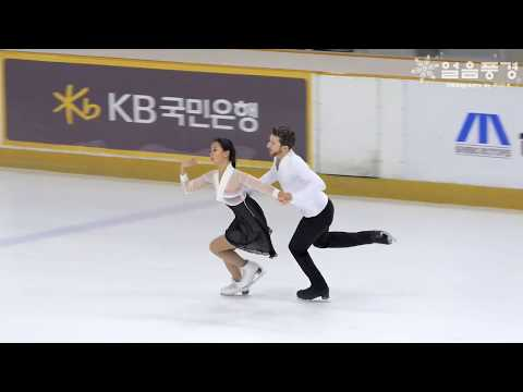 FD #01 민유라 & 알렉산더 겜린 YURA MIN & GAMELIN ALEXANDER @ 2017년 피겨 올림픽선발전 및 주니어선발전 아댄시니어