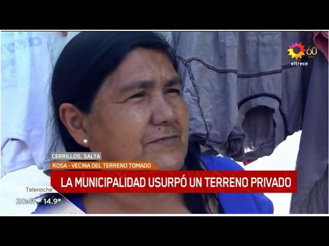 Cerrillos y el nuevo cementerio es noticia nacional