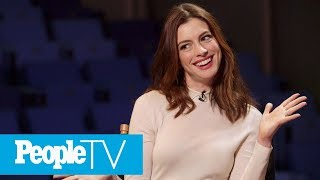 Why Anne Hathaway Thought Matthew McConaughey Was Mad At Her On Set | PeopleTV
