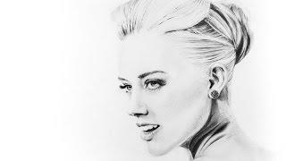 Speed Drawing : Amber Heard