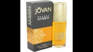 Review Jovan Secret Amber