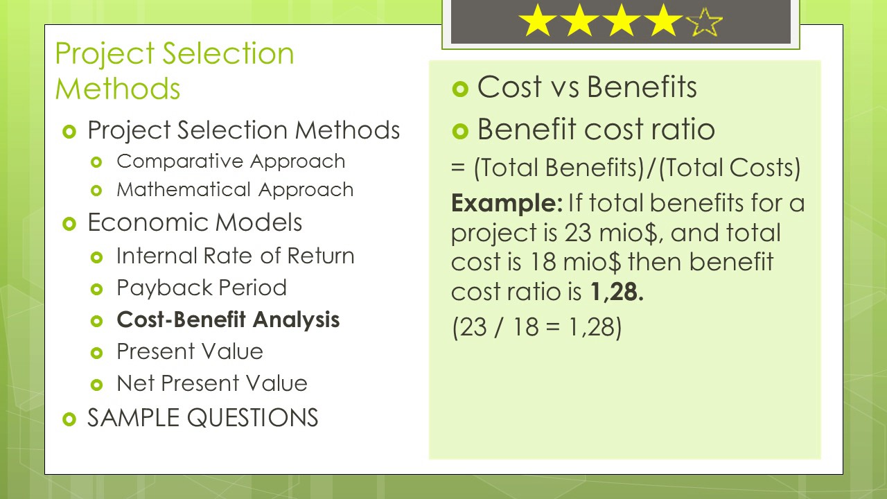 Pmp certification math prep in detail cost benefit analysis pmp certification math prep in detail cost benefit analysis 1betcityfo Choice Image