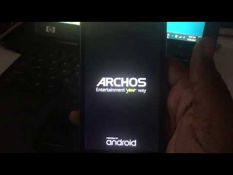 ARCHOS 50e HELIUM GOOGLE ACCOUNT BY-PASS