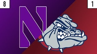 8 Northwestern vs. 1 Gonzaga Prediction | Who's Got Next?
