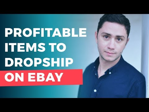 How To Find Profitable Items to Dropship on Ebay