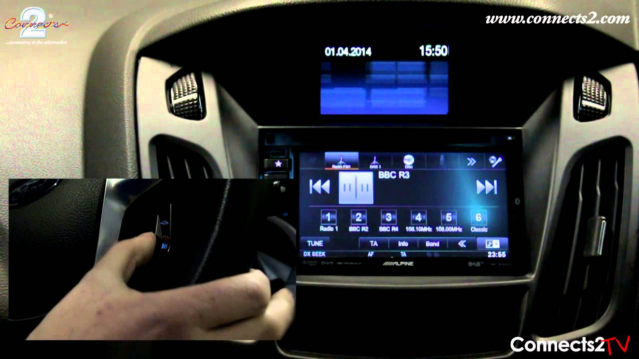 Ford Transit Connect >> Ford Focus (2012) Integration Kit: User Guide - YouTube