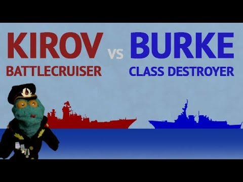 Kirov Battlecruiser vs Burke Destroyer