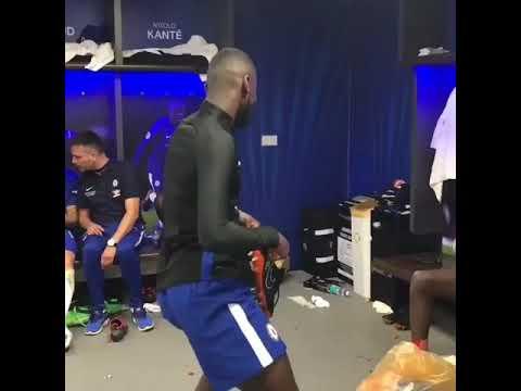FA cup final 2018 chelsea rudiger dance