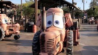Mater's Junkyard Jamboree ride-through at Cars Land in Disney California Adventure