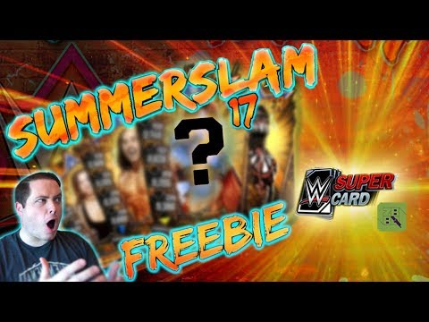 HUGE SUMMERSLAM 17 FREEBIE!! NEW TIER UPDATE! | WWE SuperCard