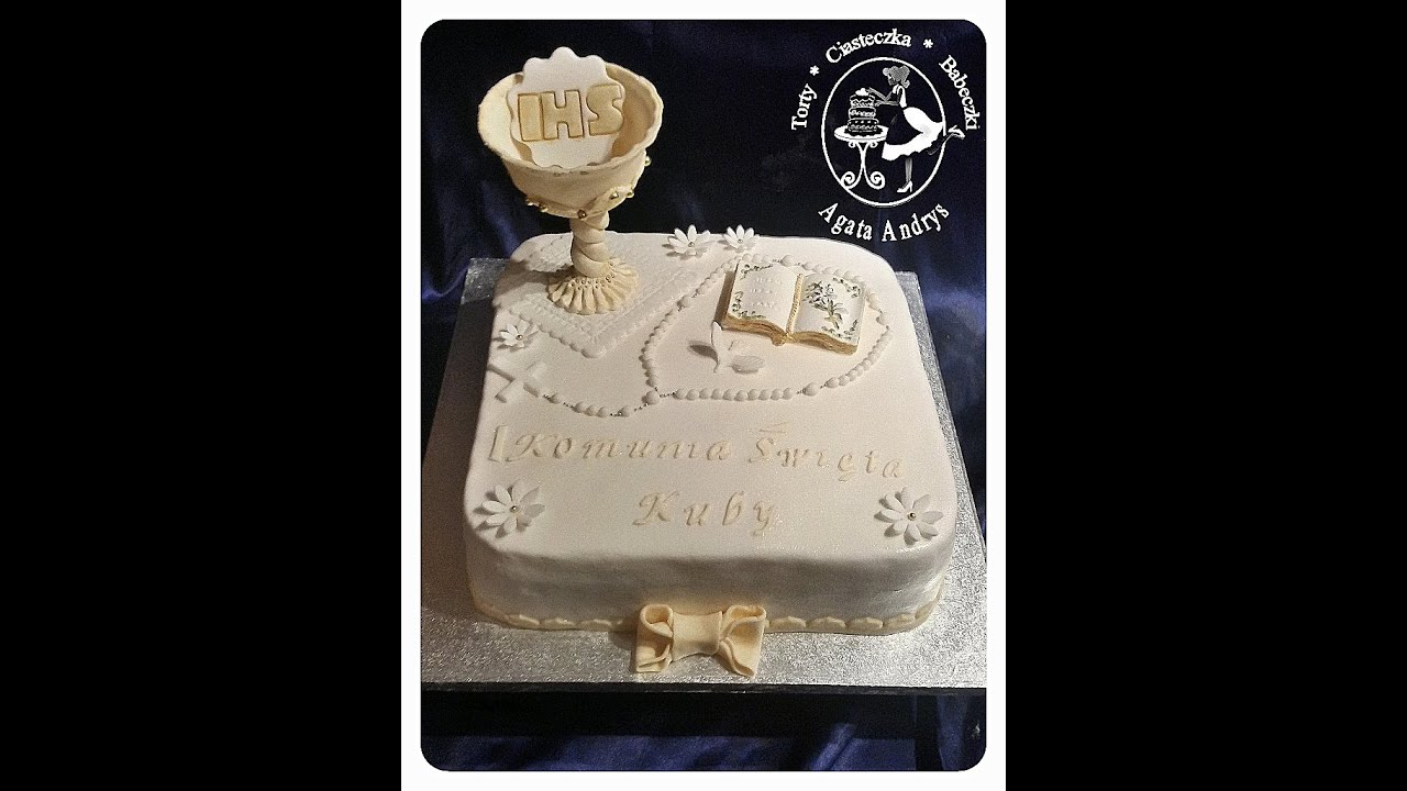 How To Make A Holy Communion Cake