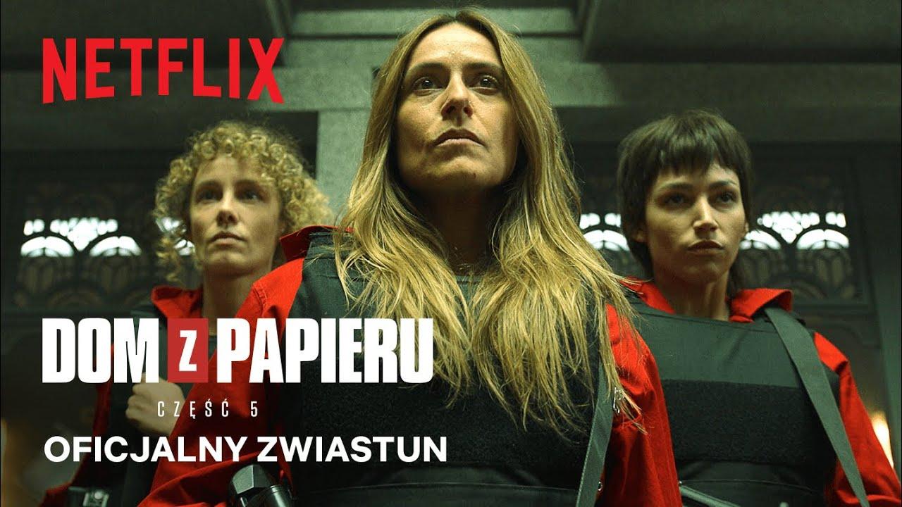 Dom z papieru: 1. połowa części 5   Oficjalny zwiastun   Netflix