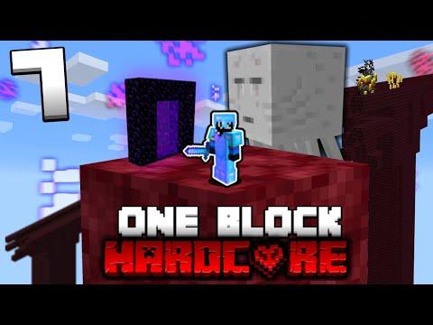 Minecraft ONE BLOCK SKYBLOCK, but it's HARDCORE! (Episode 7)