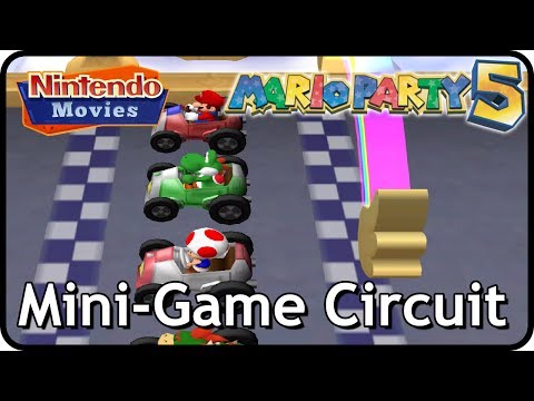 Mario Party 5 - Mini-Game Circuit (Multiplayer)
