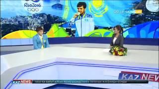 Серебряный призер Елдос Сметов
