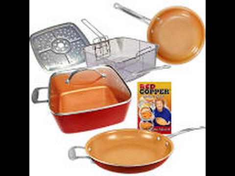 Copper Chef Skillet Use Clean Up And Review Youtube