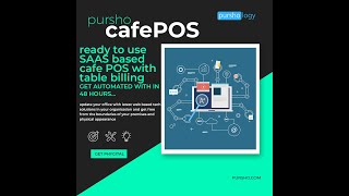 How pursho cafepos is the best cafe pos system for your our solution manage cafe it's a real-time created by inputs received ...