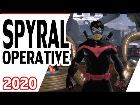 DCUO Spyral Operative