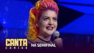 Emanuelle Strapassom conquista vaga na semifinal com hit de Cyndi Lauper