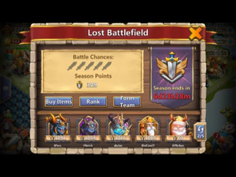 How To Get The Most Fame Through Lost BattleField Castle Clash