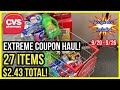 HUGE CVS EXTREME COUPON HAUL DEALS STARTING 9/20 |27 ITEMS 9 CENTS EACH| TONS OF FREE & CHEAP 🥳