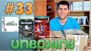 [Unboxing] 33 - FF III (NDS), Dead Rising (X360) y NBA 2k13 (WiiU)