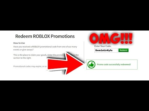 Promo Code For Roblox Working 2017 Youtube