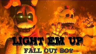 SFM FNAF Music Light Em Up