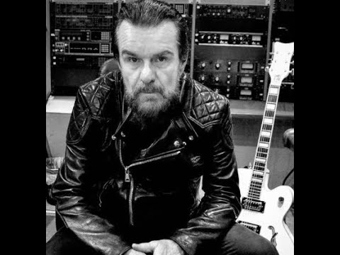 The Cult in studio for new album Billy Duffy posts update ..!