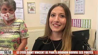 Avignon : le lycée Saint-Vincent-de-Paul rouvre ses portes