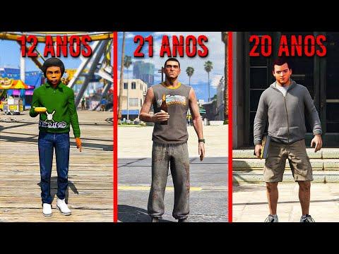 VOLTEI AO PASSADO PARA VER ELES MAIS JOVENS NO GTA 5!!