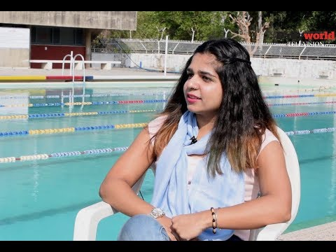 Daily World TV Interview: Ace swimmer Chahat Arora shares her formula for becoming a champion