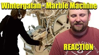 Wintergatan - Marble Machine (music instrument using 2000 marbles) REACTION
