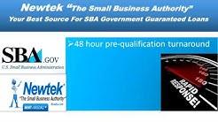 Newtek Provides SBA Loans