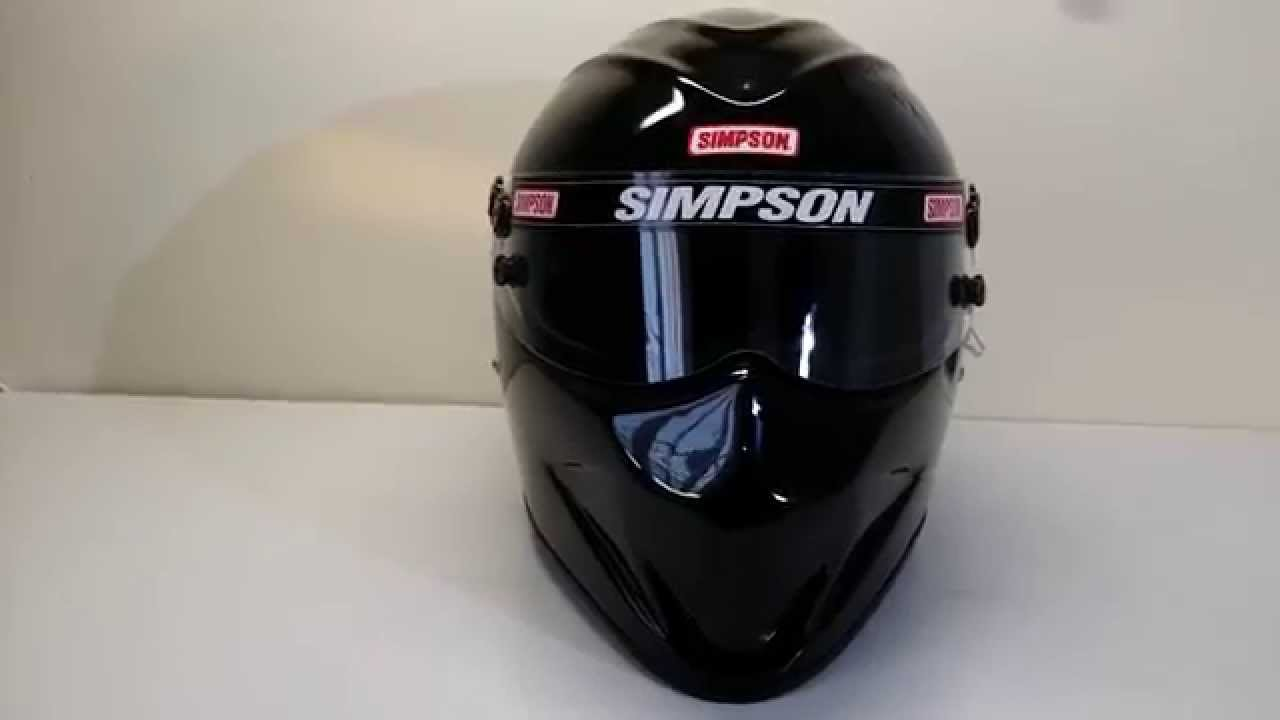 Drag Racing Helmets >> SIMPSON DIAMONDBACK HELMET SA2010 - YouTube