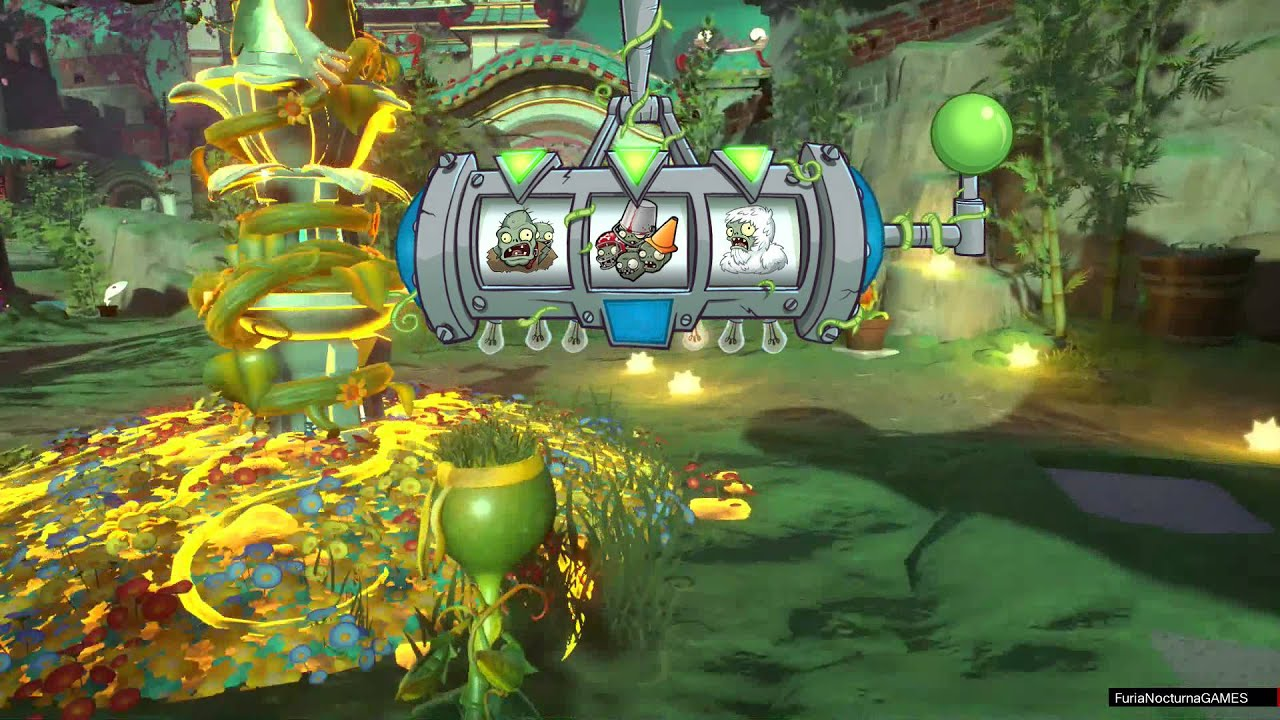 Plantas vs zombies garden warfare 2 guisante comando for Jardin zen plantas vs zombies