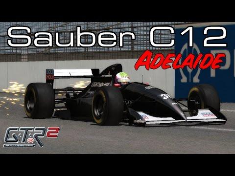[GTR2]  Sauber F1 Team-Ilmor C12 @ Adelaide with J.J Lehto (F1 1993)
