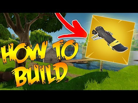 How To BUILD A Hoverboard In Fortnite: Save The World!