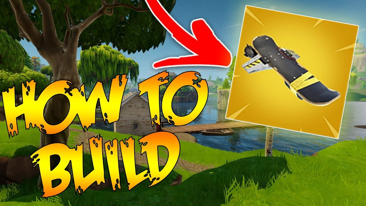how to build a hoverboard in fortnite save the world - where are the hoverboards in fortnite located