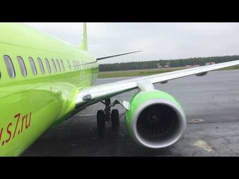 Перелет Нижневартовск-Новосибирск|Flight Report Nizhnevartovsk-Novosibirsk S7 Airlines B737-800