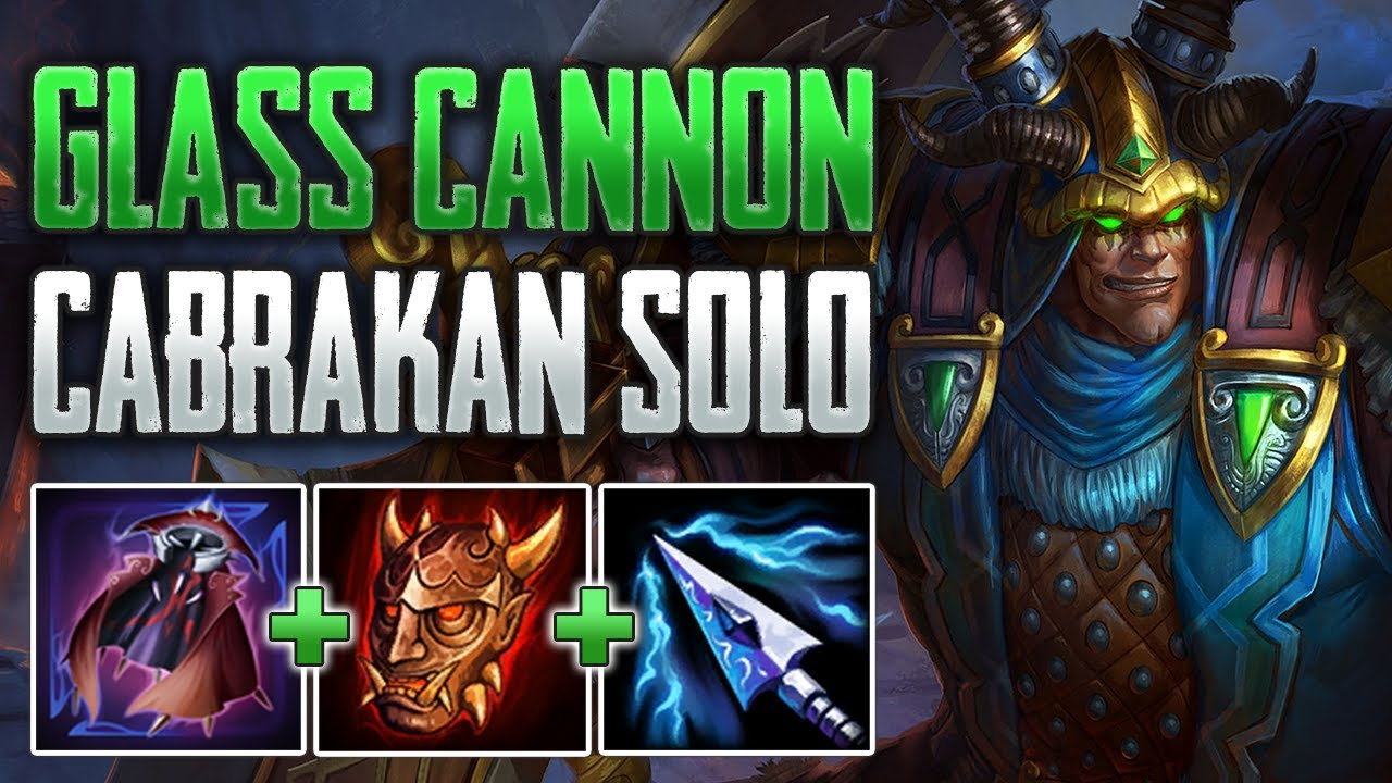 THE ULTIMATE ONE SHOT BUILD! Cabrakan Solo Gameplay (SMITE Conquest)