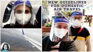 Airport New Rules for Domestic Flight Journey   Lockdown Air Travel Tips   Kochi to Kolkata