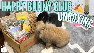 HAPPY BUNNY CLUB  UNBOXING | Rabbit subscription box thumbnail