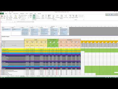 Human Resource Dashboard Calculations - FUN x EXCEL - Excel Dashboard 003 | FunnyCat.TV