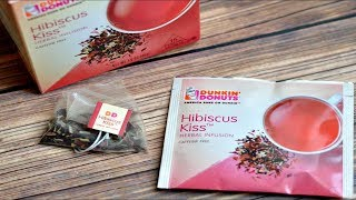 Dunkin' Donuts Hibiscus Kiss Herbal Infusion Tea Review - Wreckless Eating