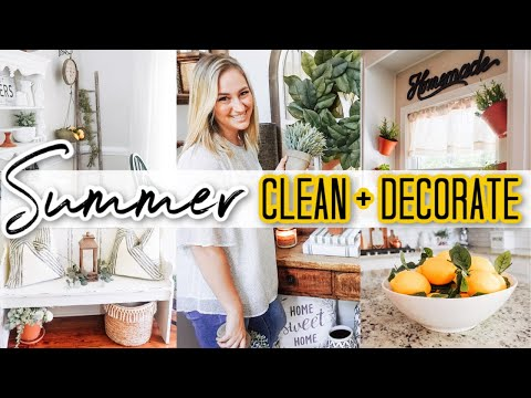 SUMMER CLEAN AND